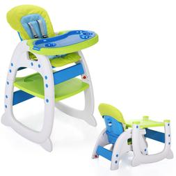 3 in 1 Baby High Chair Infant Toddler Feeding Booster Seat F