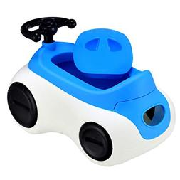 Costzon 2 in 1 Toddlers Potty Training Seat, Kids Car-Shaped