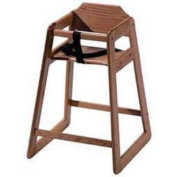 Old Dominion S-1 Wooden High Chair Solid Oak, Natural Oak Fi