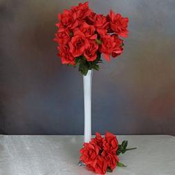 BalsaCircle 168 Red Velvet Open Bloom Roses - 24 bushes - Ar