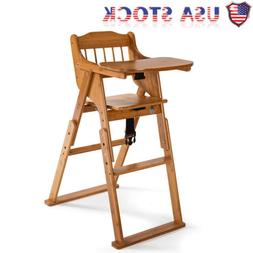 2020 baby high chair bamboo stool infant