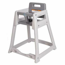 "Koala Kare 29 3/8"" Stackable High Chair w/ Waist Strap - Pla"