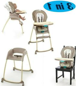 3 in 1 Convertible Baby Toddler High Chair Stool Boost With