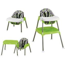 Evenflo 3-in-1 Convertible High Chair, Dottie Lime- Kids, To