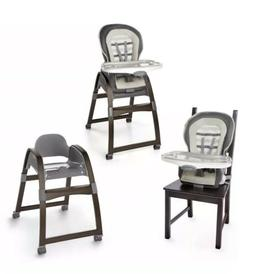 Ingenuity 3 In 1 Wood High Chair 5135 Booster Seat & Smart T