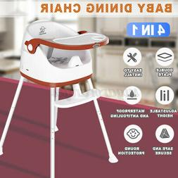 4 in 1 Baby High Chair Convertible Play Table Seat Booster T
