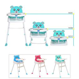4-in-1 Feeding Baby High Chair Convertible Table Seat Booste