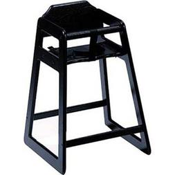 Old Dominion S-4 Wooden High Chair Solid Oak, Black Finish
