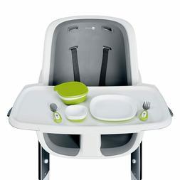 4moms high chair Magnetic Feeding Utensil Set, Spoon, Fork,