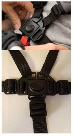 5 Point Buckle Harness Clip Straps to fit GRACO TABLEFIT hig