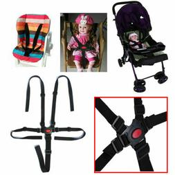 5 Point Harness Baby Safety Seat Belt Strap For Stroller Hig