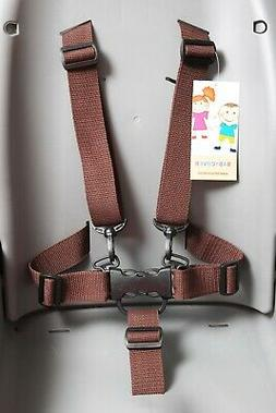 5 Point Safety Belt for high chair High Chair Seat Safety Ha