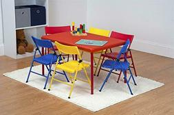 Cosco Kids Furniture 7 Piece Children's Juvenile Set with Pi