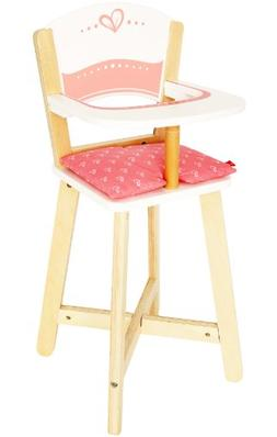 Award Winning Hape Babydoll Highchair Toddler Wooden Doll Pl