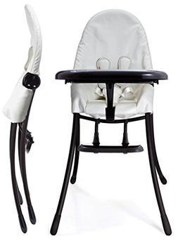 Bloom Nano Matt Black Frame with White Seat Pad