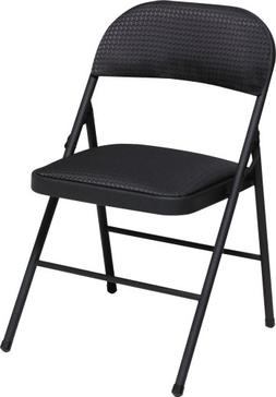 Cosco Fabric Folding Chair Black