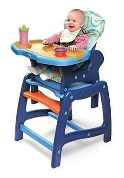 Envee Baby High Chair with Toddler Playtable and Chair Conve