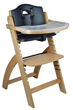 Abiie Beyond Wooden High Chair with Tray.The Perfect Seating