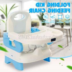 Adjustable Baby High Chair Infant Toddler Feeding Booster Fo