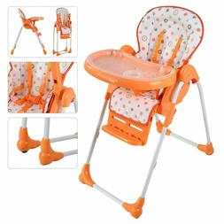 Adjustable Baby High Chair Infantn Toddler Feeding Boostern