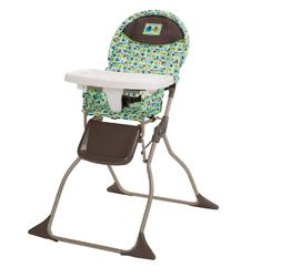 Adjustable Baby High Chair Safely Infant Feeding Booster Sea