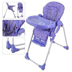 Adjustable Baby High Chair Infant Children Toddler Feeding B
