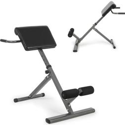 Adjustable Roman Chair AB Back Bench Hyperextension Abdomina