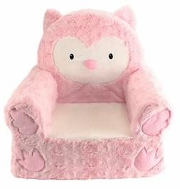 Sweet Seats | Pink Owl Children's Chair | Large Size | Machi