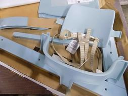 Aqua Blue Tripp Trapp Highchair + White Tray