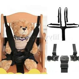 Baby 5 Point Safety Chair Harness Belt Strap for High Chair