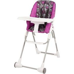Baby High Chair Elevated Feeding Mealtime Seat Foldable Stur