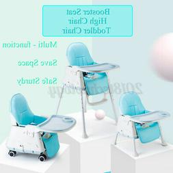 Baby High Chair 3-In-1 Adjustable Highchair Feeding Dining B