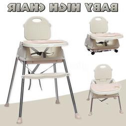 Baby High Chair Convertible Play Table Seat Booster Toddler