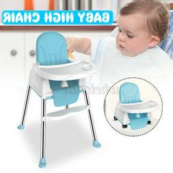 3in1 Baby High Chair Infant Toddler Feeding Booster Seat Fol