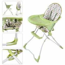 Baby High Chair Infant Toddler Feeding Booster Seat Folding
