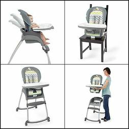 Baby High Chair Table 3 In 1 Booster Convertible Seat With F