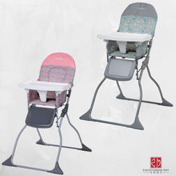 Baby High Chair Toddler Feeding Seat Adjustable Tray Portabl