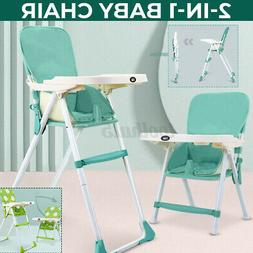 Baby High Chairs Adjustable Feeding Dining Booster Table Sea