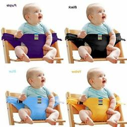 Baby Portable Feeding Seat Belt Baby High Chair Safety Belt