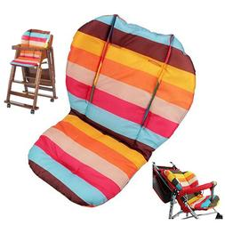 Baby Stroller/High Chair Seat Cushion Cover Rainbow Breathab