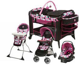 Disney Baby Stroller Travel System Car Seat High Chair Playa