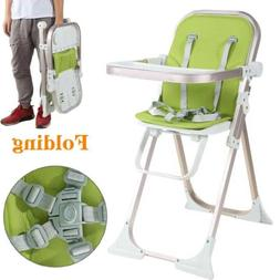Baby Toddler Adjustable High Chair Wooden Baby Feeding Boost