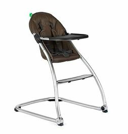 BabyHome Eat High Chair, Brown | NEW