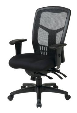 back ergonomic progrid mesh