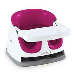 Ingenuity Baby Base 2-in-1 Seat - Pink Flambe - Booster Feed