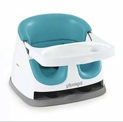 Ingenuity Baby Base 2-in-1 Seat – Peacock Blue - Booster F