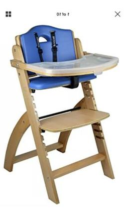 Abiie Beyond Wooden Baby High Chair Adjustable New In Box Fr