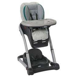 Graco Blossom 6 in 1 Convertible High Chair, Sapphire - FREE