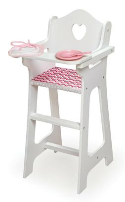 BRAND NEW Doll High Chair with Accessories and Free Personal