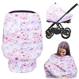 Breastfeeding Nursing Covers,MANLEHOM Multi Use Car Seat Can
